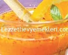 Ballı acılı portakal suyu