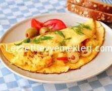 Omlet sandviç