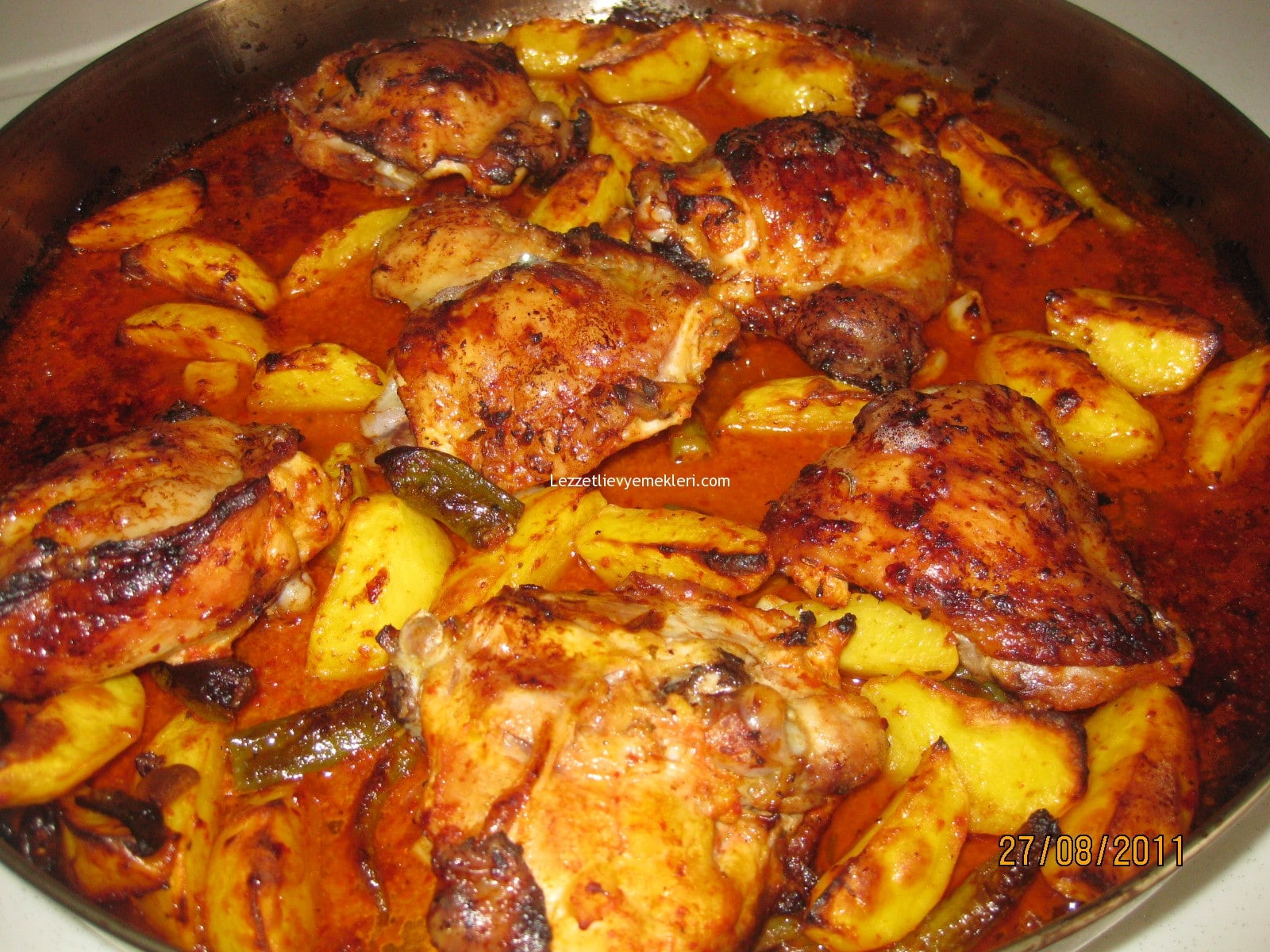 Tavuklu Patates Yahnisi (nohutlu) Tarifi