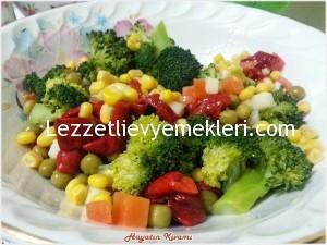 garnitürlü brokoli